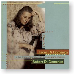 Piano Music of Robert Di Domenica cover