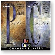 Da Capo Chamber Players: PERLE/CARTER cover
