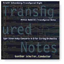 TRANSFIGURED NOTES cover