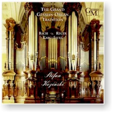 GRAND GERMAN ORGAN TRADITION cover