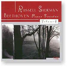 Russell Sherman: BEETHOVEN PIANO SONATAS, VOL 4