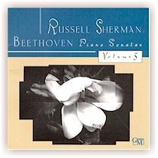 Russell Sherman: BEETHOVEN PIANO SONATAS, VOL 5